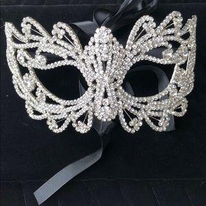 Accessories - Rhinestone Masquerade Mask